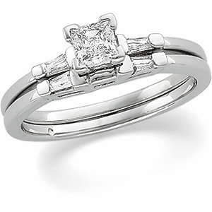 1/2 CTTW BRIDAL ENGAGEMENT SET (RING ONLY)