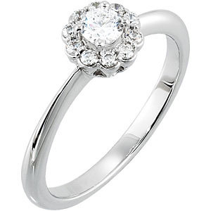 1/2 CTTW ENGAGEMENT RING