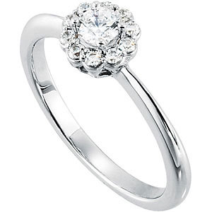 1/3 CTTW ENGAGEMENT RING