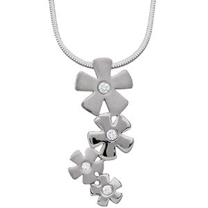 "Youth Flowers 16"" Necklace"