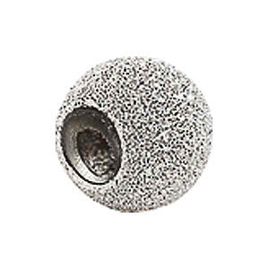 Kera™ Sterling Silver Stardust Finish Smart Bead