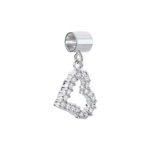 Kera™ Crystal Heart Dangle