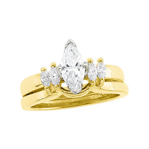 1/4 ct Diamond Enhancer (3/4 ct Solitaire sold separately)