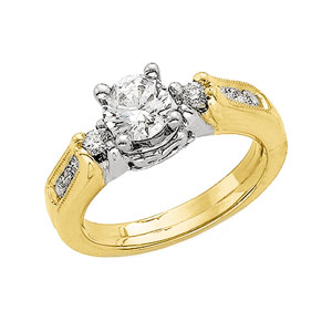 1/4 ct tw Diamond Enhancer (Round Solitaire sold separately)