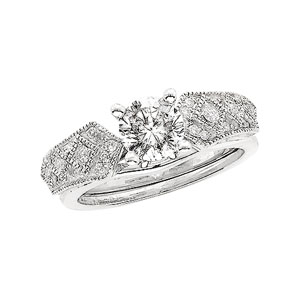 1/5 ct tw Diamond Enhancer (Round Solitaire sold separately)