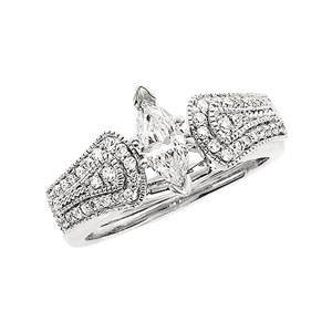 1/4 ct tw Diamond Enhancer (Marquise Solitaire sold separately)