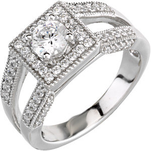 3/4 CTTW BRIDAL ENGAGEMENT RING