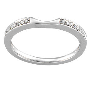 1/10 CTTW BRIDAL ENGAGEMENT SET (BAND ONLY)
