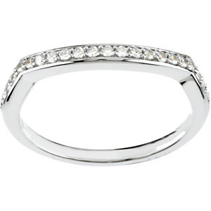 BRIDAL ENGAGEMENT SET ( 1/6 CTTW Band)