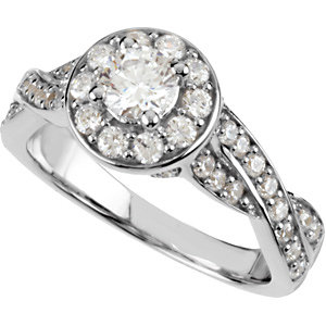 1 1/4 CTTW BRIDAL ENGAGEMENT SET (Band sold separately)
