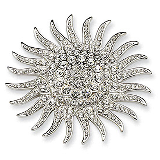 Sunburst Pin