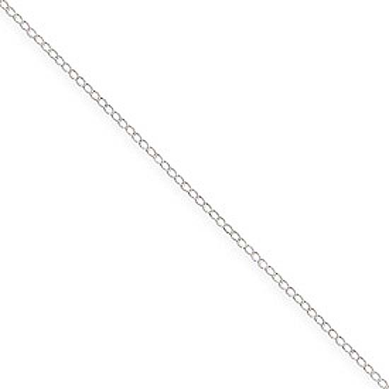 Sterling Silver Curb Chain 16,18 or 20 Inch