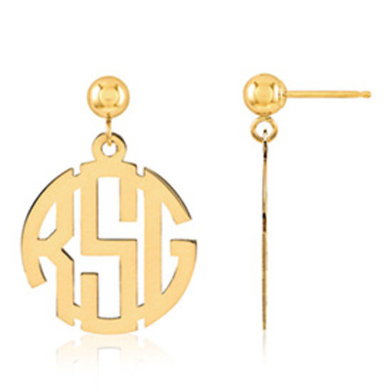 QG Monogram Earrings