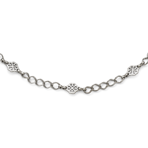 Silver-Tone Downton Abbey 35in Necklace