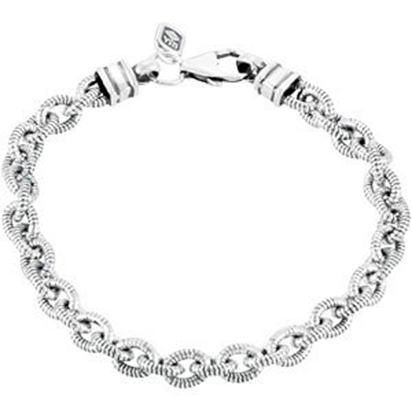 5.9mm Twisted Cable Link Bracelet