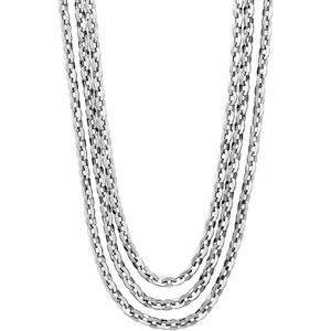 Stainless Steel Multi-Strand Rolo Chain