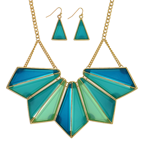 Statement Necklaces & Earrings