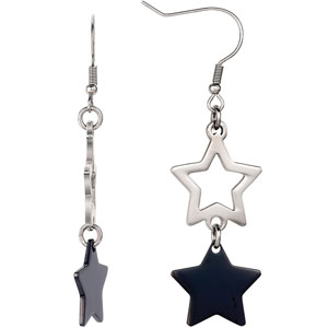 Amalfi™ Star Dangle Earrings with Immersion Plating