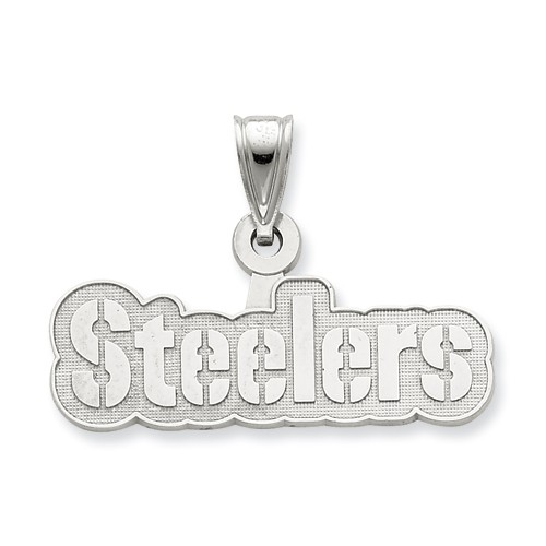 Sterling Silver Pittsburgh Steelers X-Lg Name Pendant