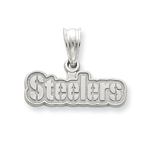 Sterling Silver Pittsburgh Steelers Sm Name Pendant