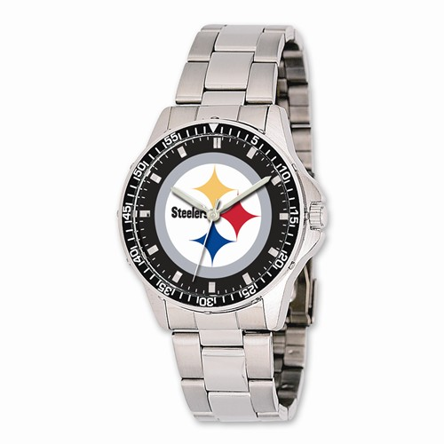 Mens NFL Pittsburgh Steelers Coach Watch