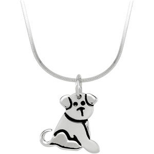 Youth Puppy Necklace