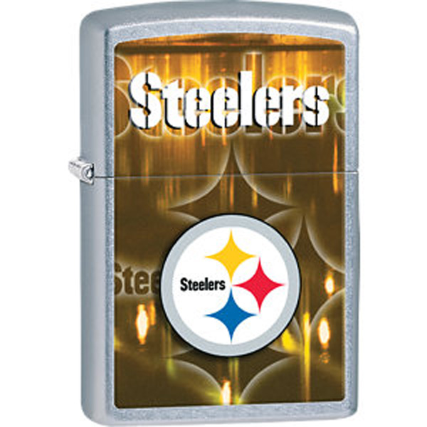 Zippo® NFL® Steelers Street Chrome™ Lighter